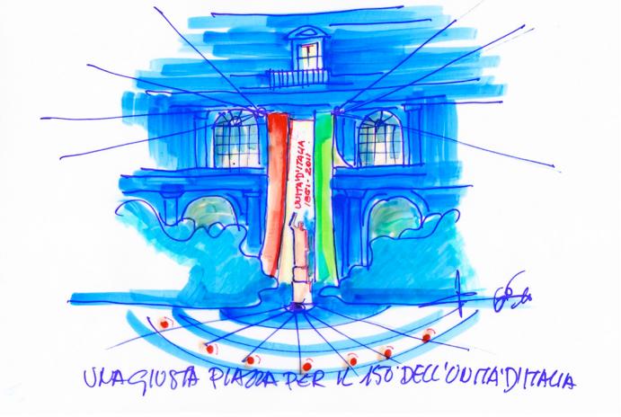 Illuminare l'Italia – Piazza Trieste e Trento
